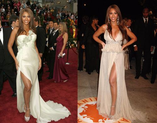 Oscars Poll: Which Beyonce Dress Was The Most Fab?