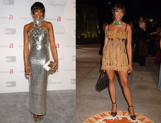 Oscars Poll: Which Naomi Campbell Dress Was The Most Fab?