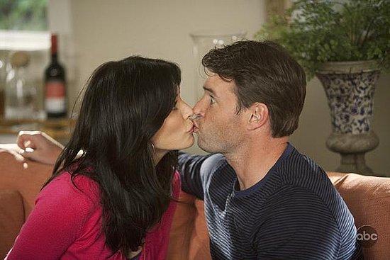 Cougar Town Lesbian Kiss
