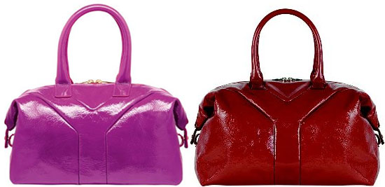 Yves Saint Laurent Red and Pink Easy Totes | POPSUGAR Fashion
