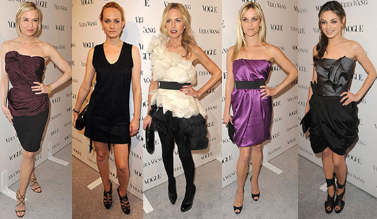 Celebrities at vera wang boutique opening party in la popsugar fashion Celebrity style fashion boutique