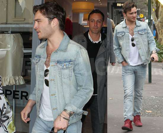 Pictures of Ed Westwick Shopping in Sydney He Is Single ... Ed Westwick Single