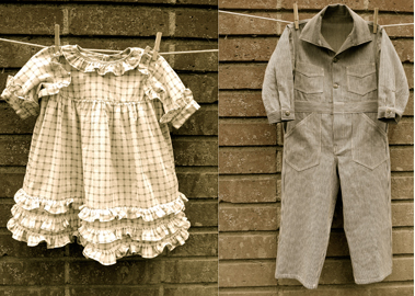 Vintage Children's Clothing By Blu Pony
