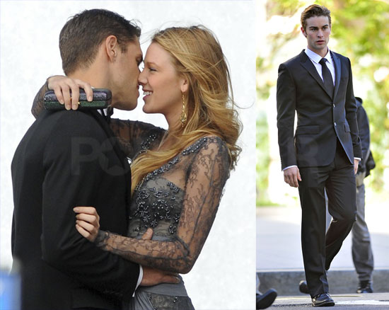 pictures of blake lively and chace crawford shooting