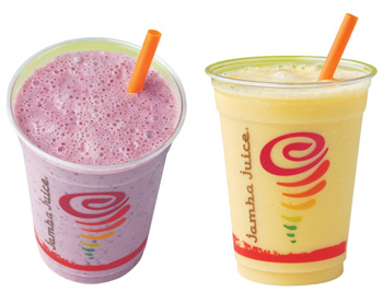 Jamba Juice Probiotic Smoothies