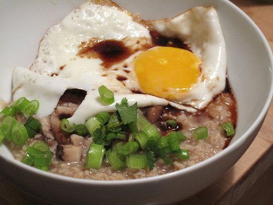 Asian Inspired Savory Oatmeal Recipe