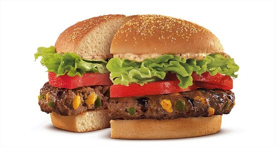 Burger King Stuffed Burger