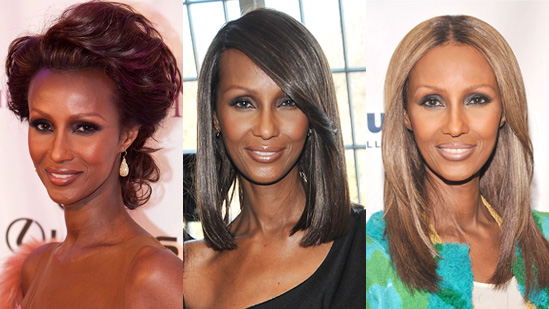 Iman Hairstyles