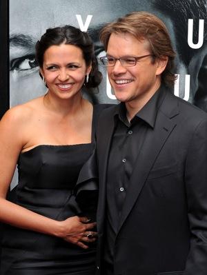Matt Damon Tells Ellen How He Met His Wife | POPSUGAR Love ...