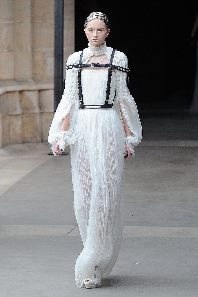 alexander mcqueen wedding dress mcqueen s white fall 2011 finale gowns a 1252