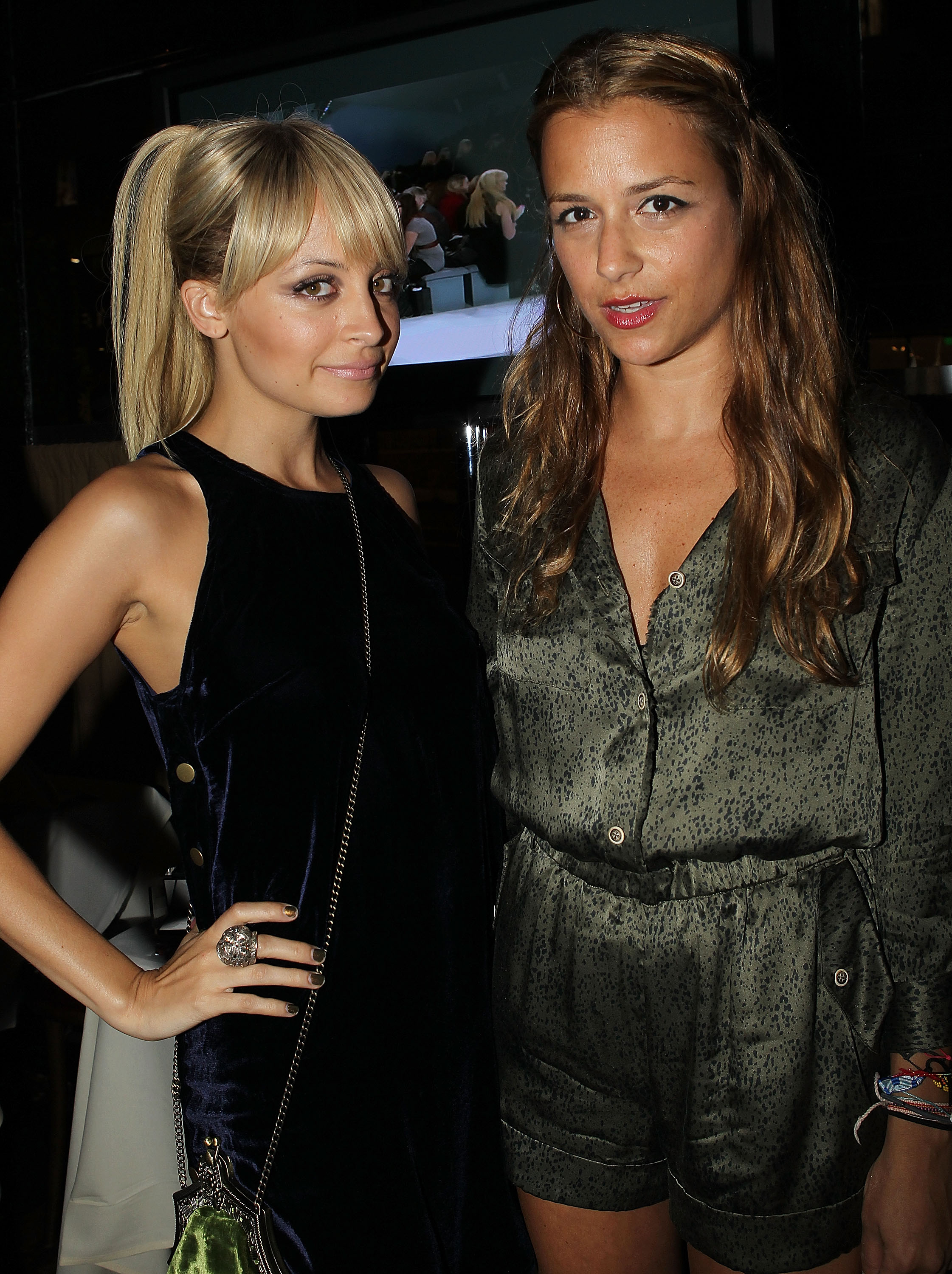 Nicole Richie and Charlotte Ronson shared a moment.