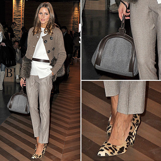 Olivia Palermo Shows How To Work Winter Accessories at ...