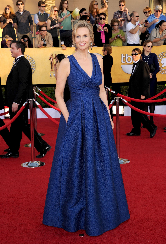 Jane Lynch at the SAG Awards