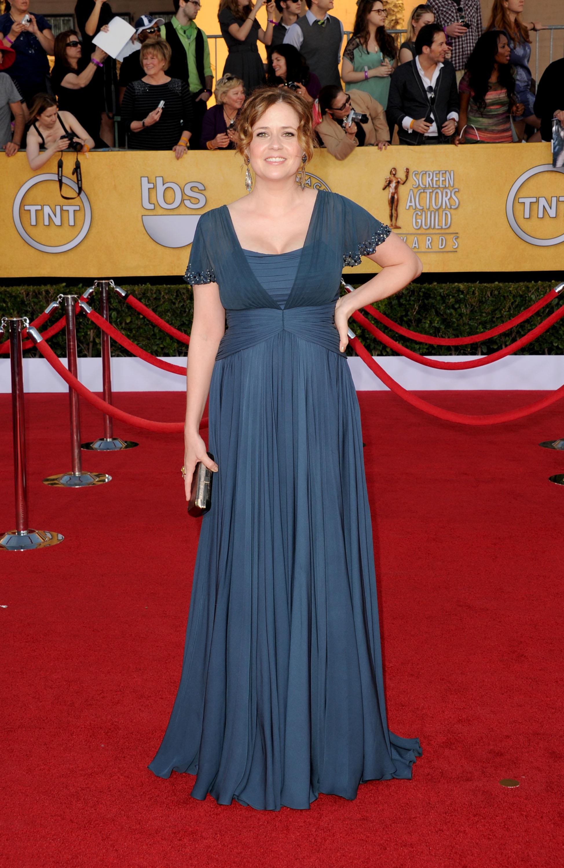 Jenna Fischer at the SAG Awards