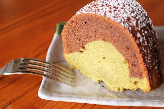 Butter Cake Recipe Japanese: Chocolate-Matcha Green Tea Mochi Bundt Cake Recipe