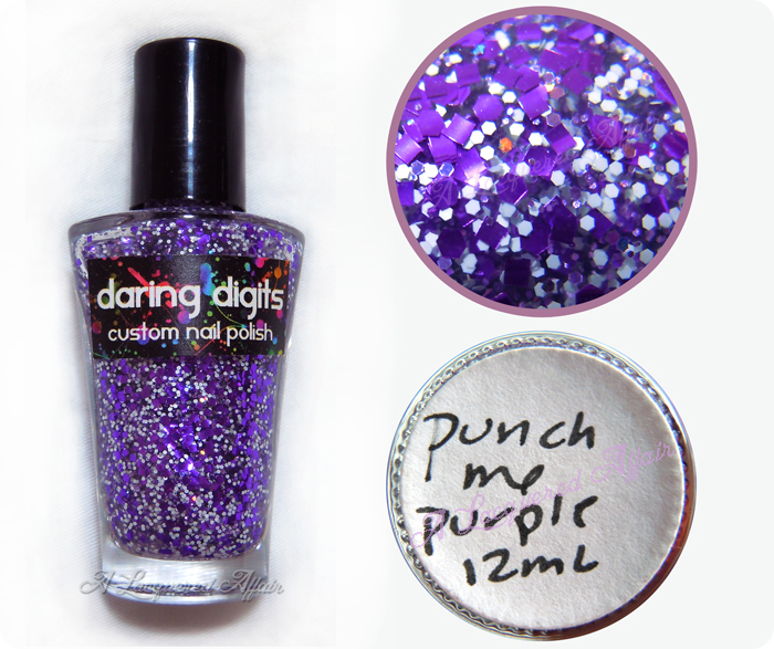 Daring Digits Punch Me Purple