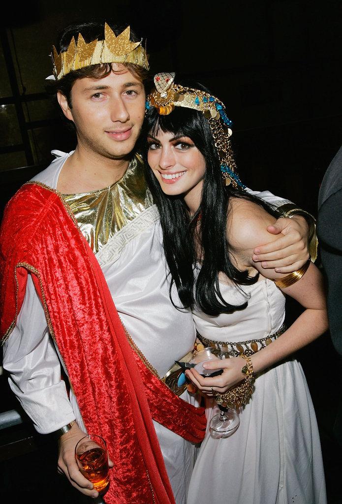 Anne Hathaway and Raffaello Follieri as Greeks