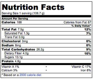 Vegan Apple Cranberry Crisp | POPSUGAR Fitness