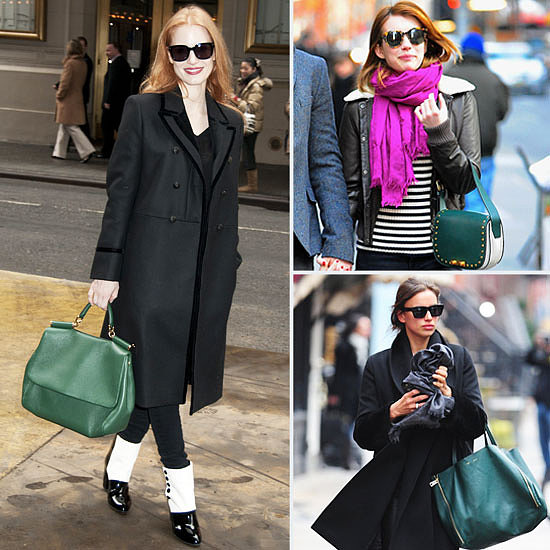 Ladies Celebrity Green Handbags Sale ... - holistic-habits.com