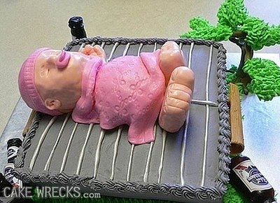 6 More Creepy Baby Shower Cakes (PHOTOS)