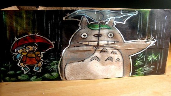 Dad Creates Elaborate Lunch Bag Drawings for His Kids (PHOTOS)