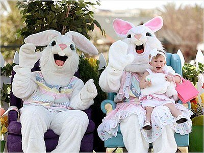 Kids Scared of the Easter Bunny — And We Don't Blame Them! (PHOTOS)