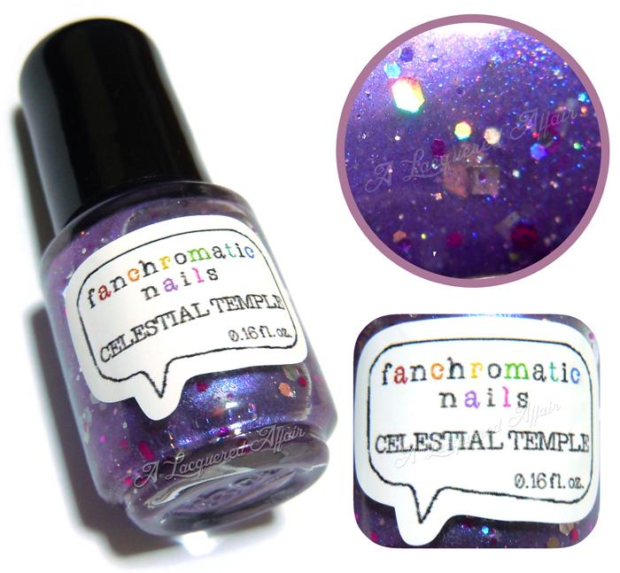 Fanchromatic Nails Celestial Temple