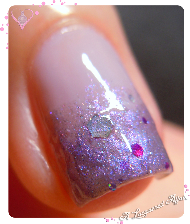 Fanchromatic Nails Celestial Temple over a-england Guinevere