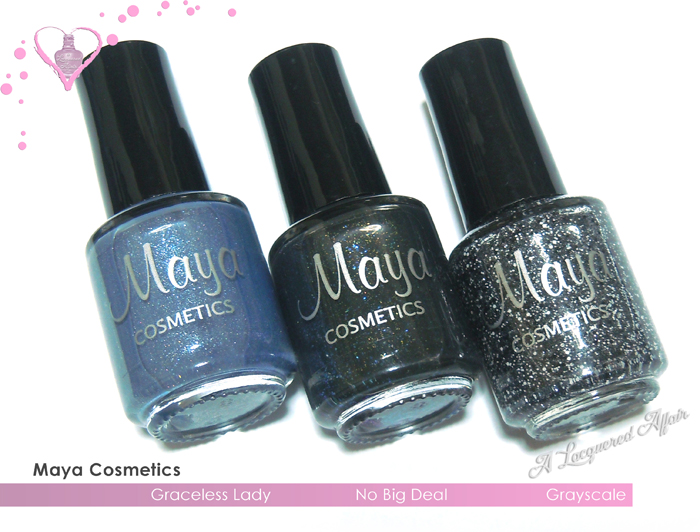 Maya Cosmetics Graceless Lady, No Big Deal, Grayscale