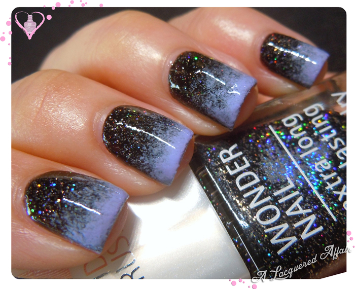 IsaDora Bella Vita Gradient Over Black Galaxy