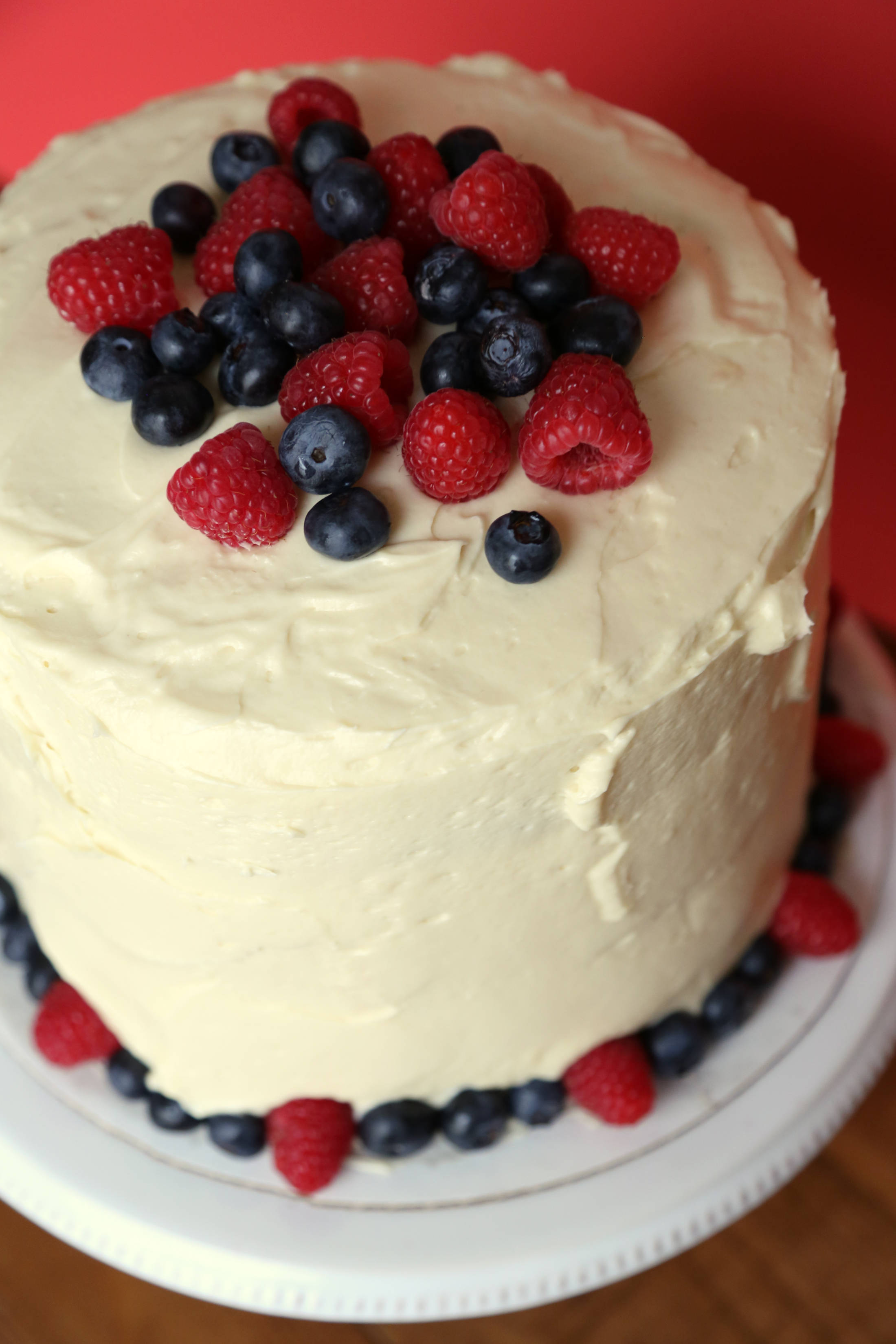 Red White And Blue Cake Popsugar Food