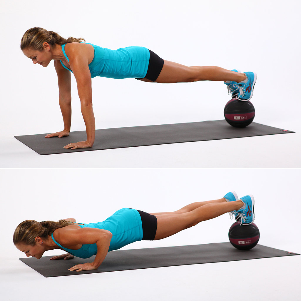 Elevated Pushups Workout