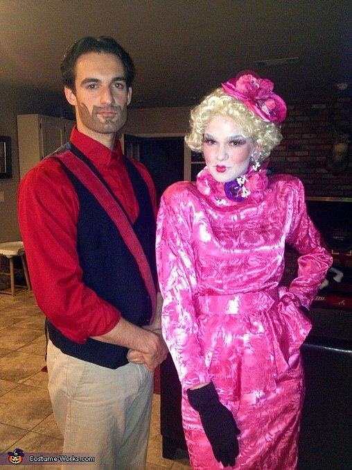 Seneca Crane and Effie Trinket From The Hunger Games
