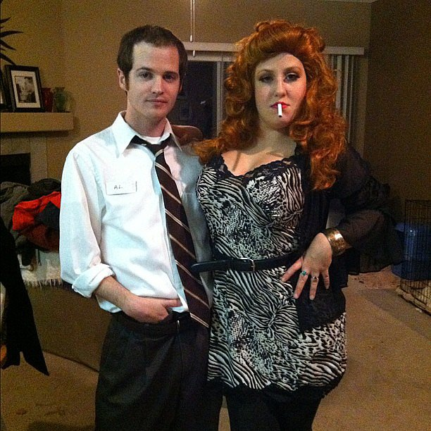 Al and Peggy Bundy From Married With Children