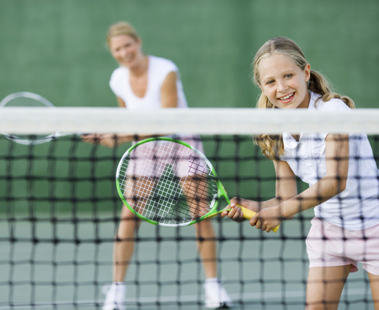Kid Sport, Tennis