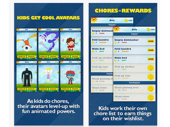 chore chart apps for kids