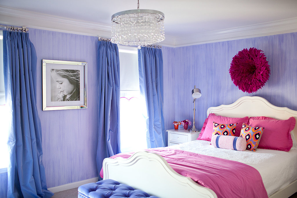 pretty pink bedrooms pretty and stylish pink and purple big s room 12935