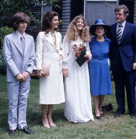 Caroline Kennedy Wedding Dress 14 Fancy Share This Link