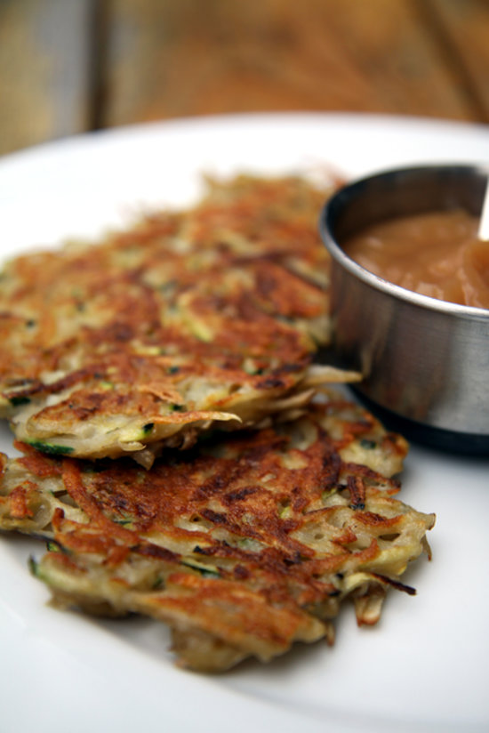 Healthy Dinner Idea: Zucchini Latkes | POPSUGAR Fitness