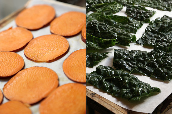 Kale Chips Recipe Oven Giada Baked Kale and S...