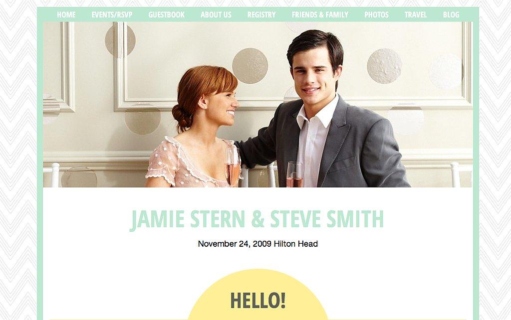 Free Wedding Websites | POPSUGAR Tech
