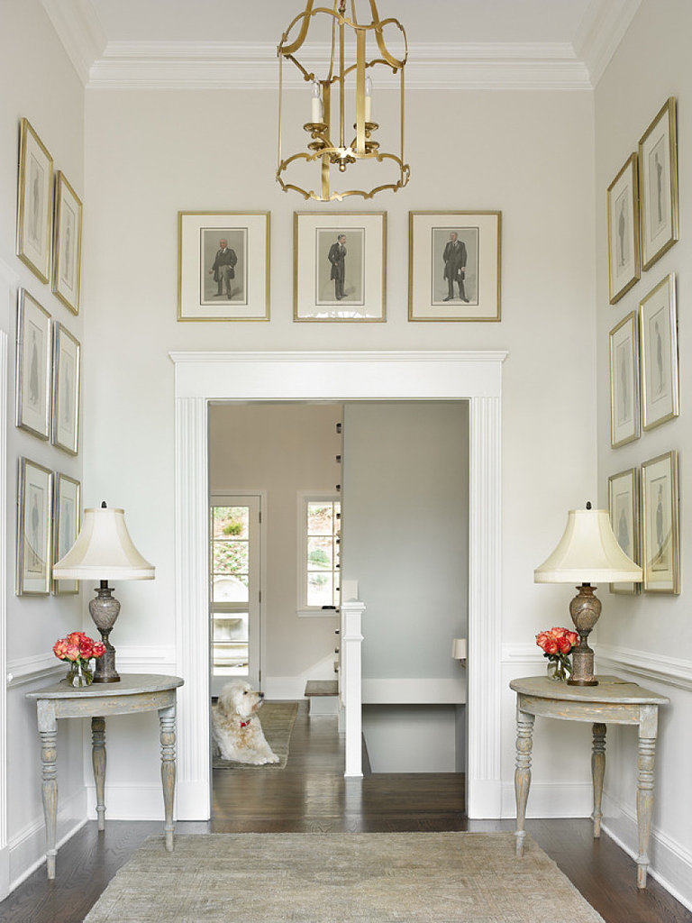 Entryway ideas popsugar home for Foyer makeover ideas