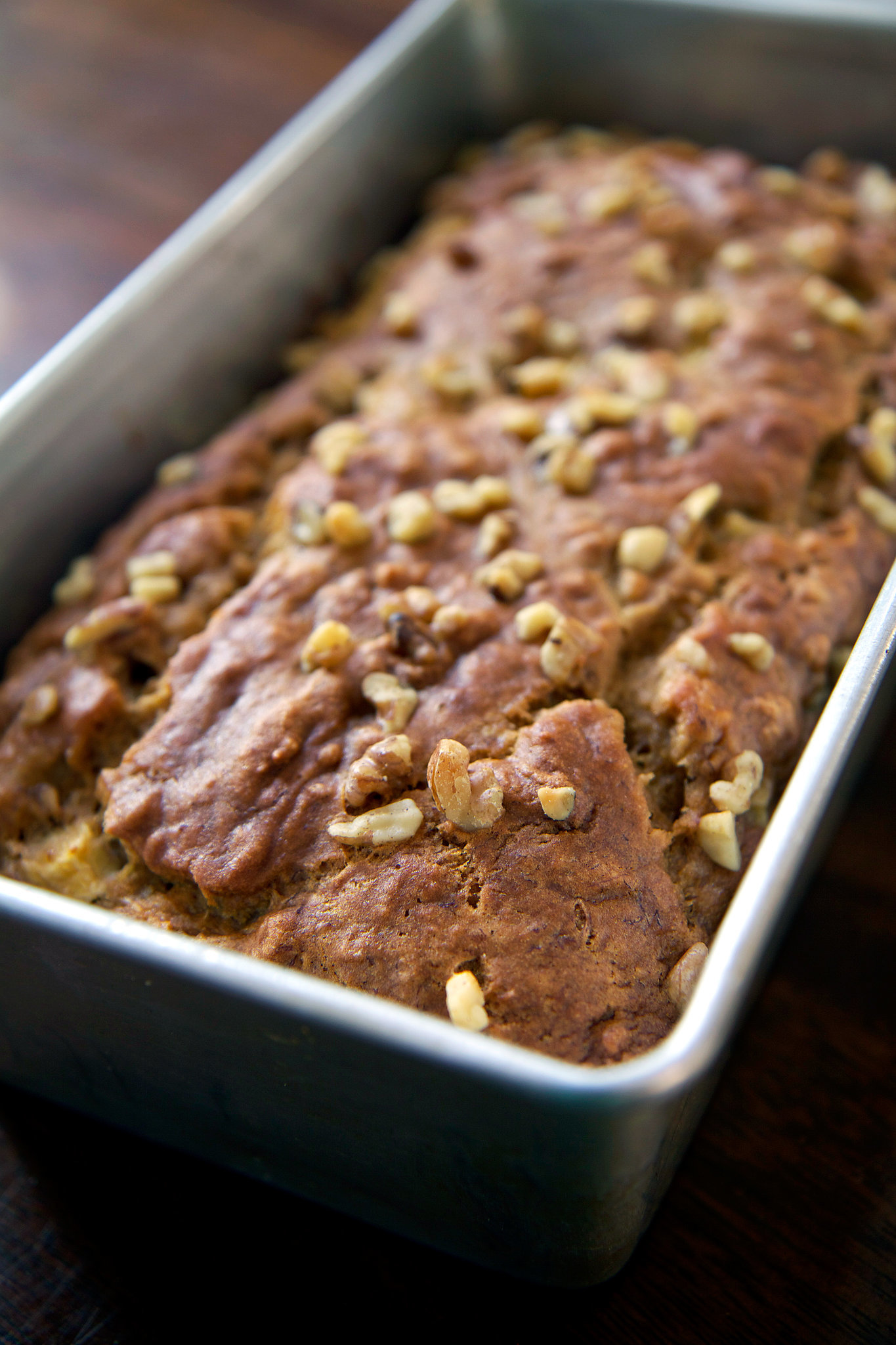 Recipe for low fat vegan banana apple chunk bread popsugar fitness forumfinder Gallery