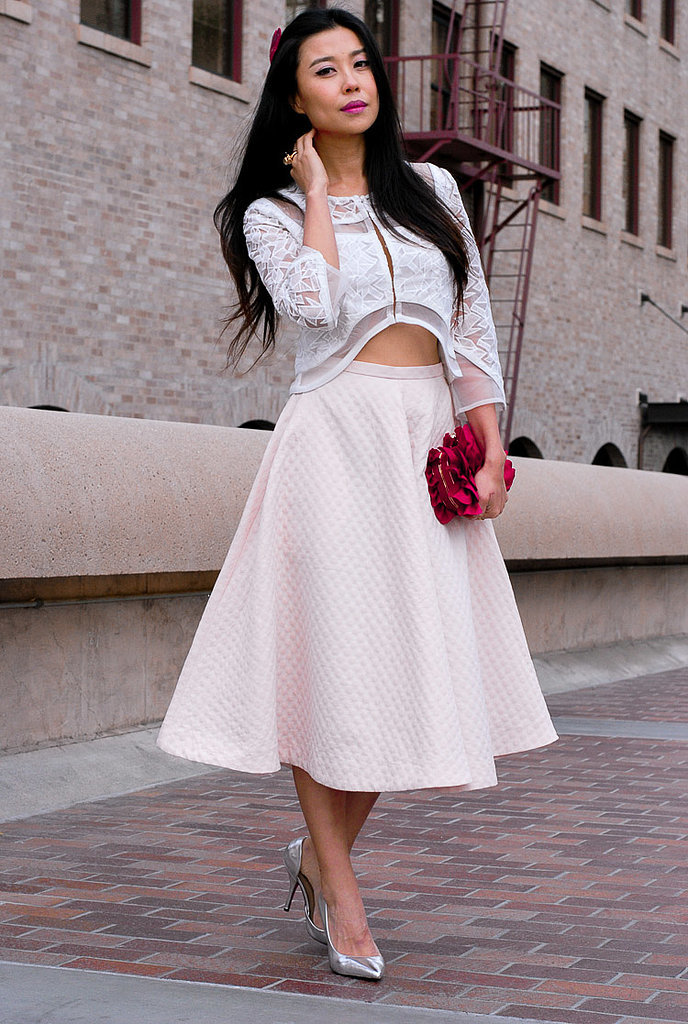1950s Era Valentines Day Street Style POPSUGAR Fashion