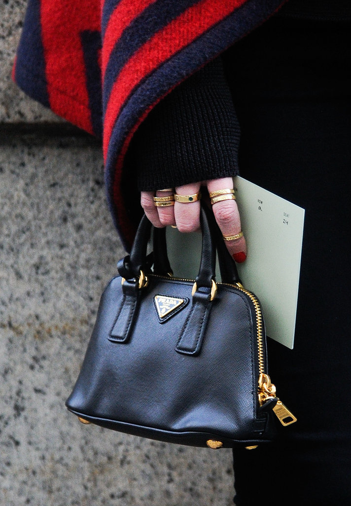 Is there anything cuter than a Prada micro-mini bag?! | Get Up ...