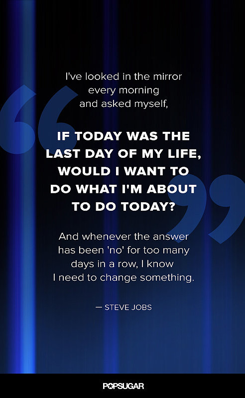 On Loving What You Do