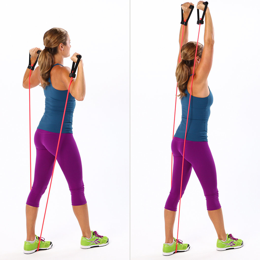 Resistance Band Travel Exercises | POPSUGAR Fitness
