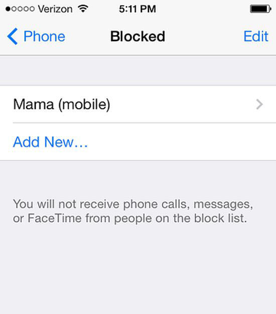 how do i block my number on my iphone how to block a number on iphone popsugar tech 21276