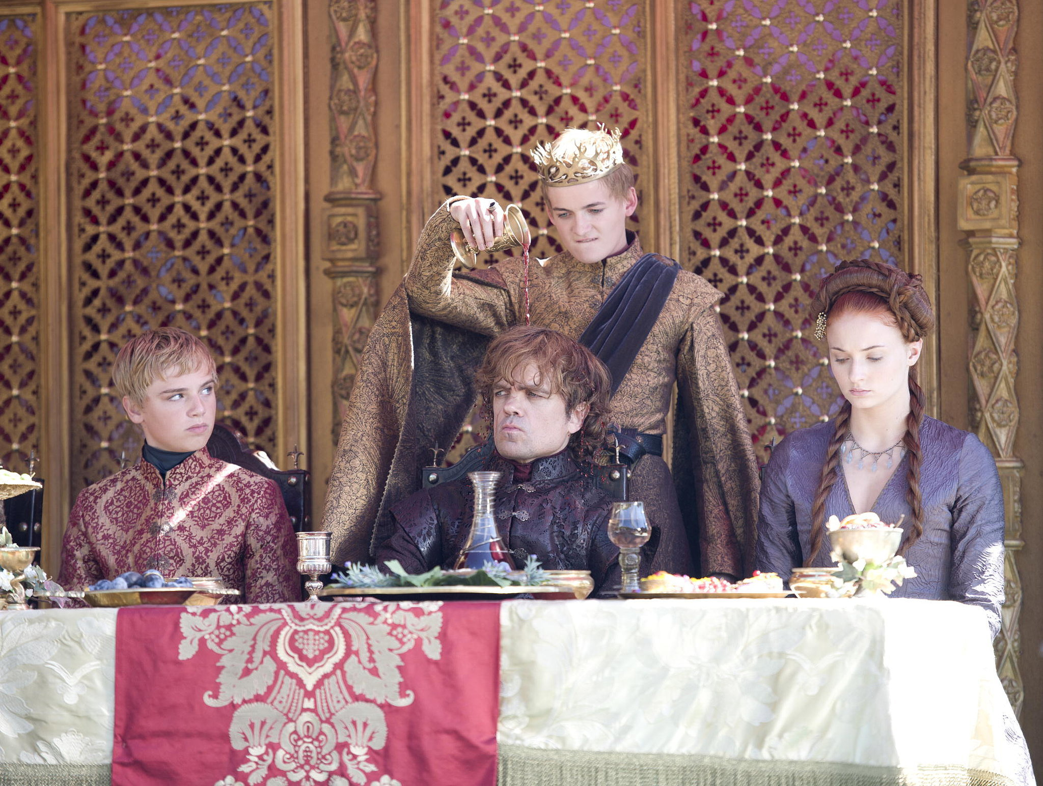 Game Of Thrones Purple Wedding.Game Of Thrones Season 4 Purple Wedding Recap Popsugar