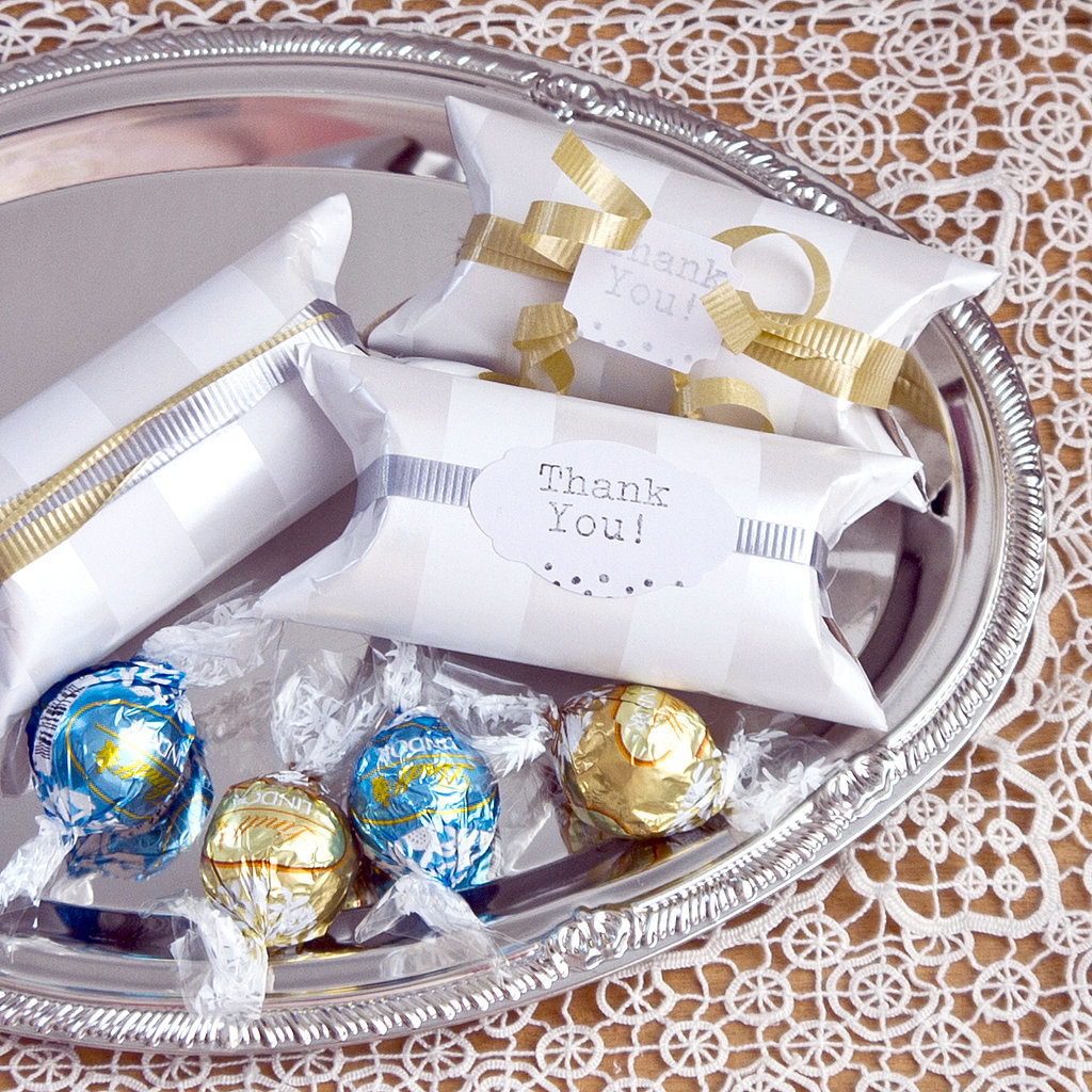 Diy Wedding Party Favors: DIY Upcycled Wedding Favor Container